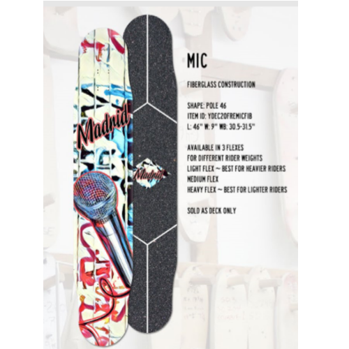 마드리드 MIC 롱보드(Madrid Mic longboards)